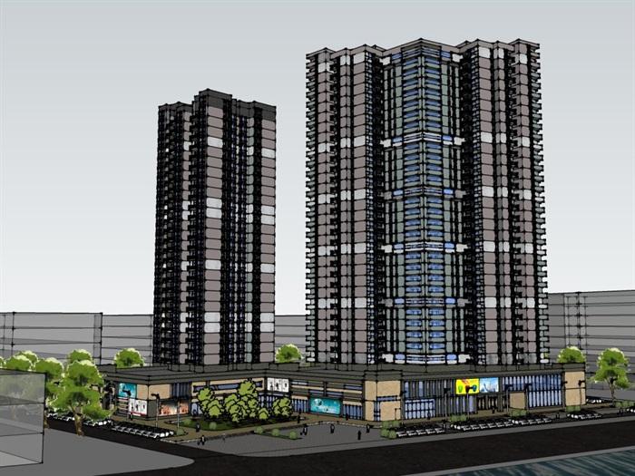 商住楼设计(2)