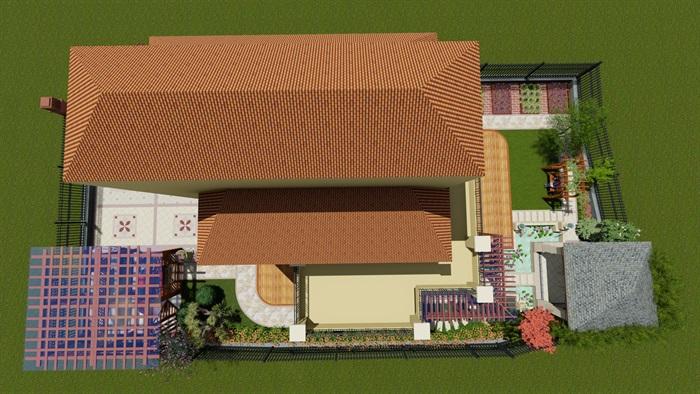 欧式庭院设计(1)