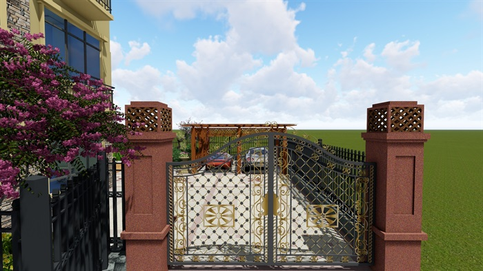 欧式庭院设计(2)
