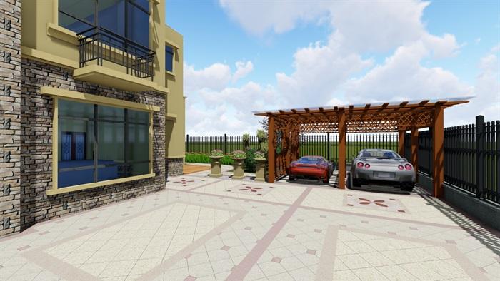 欧式庭院设计(3)