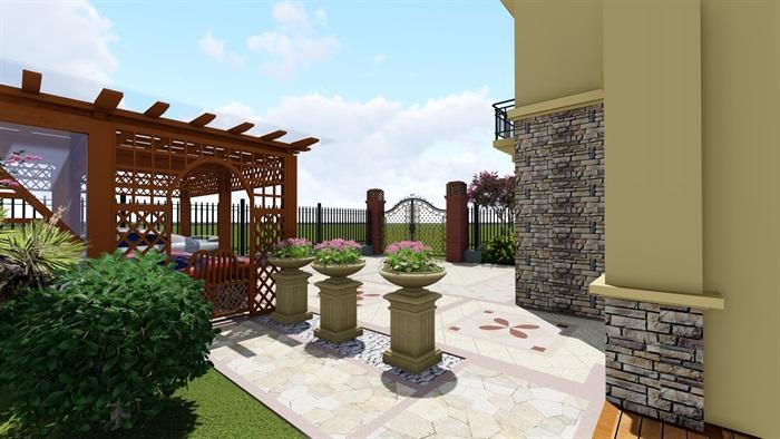 欧式庭院设计(4)