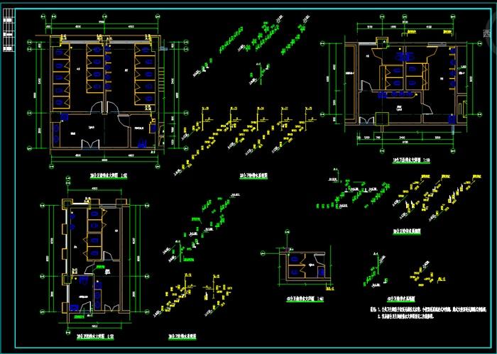 金皇大厦主楼施工图(施工图审查后修改)(2)