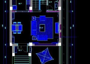 某三層別墅住宅裝修方案圖紙