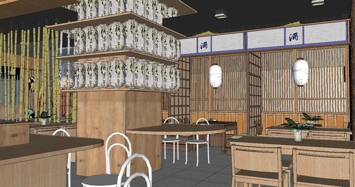 日式居酒屋料理店日料店日式餐厅咖啡馆(4)