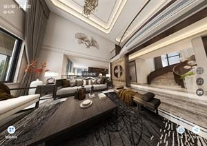 浙江的一套別墅CAD施工圖