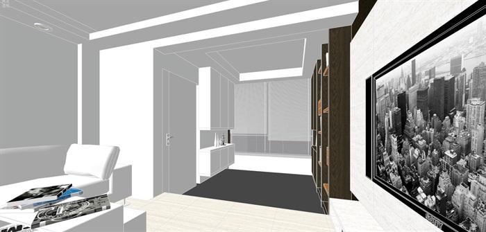 现代经典简约北欧风格住宅室内设计(1)