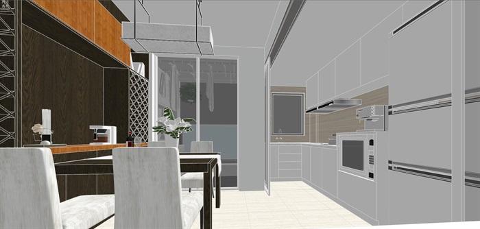 现代经典简约北欧风格住宅室内设计(7)