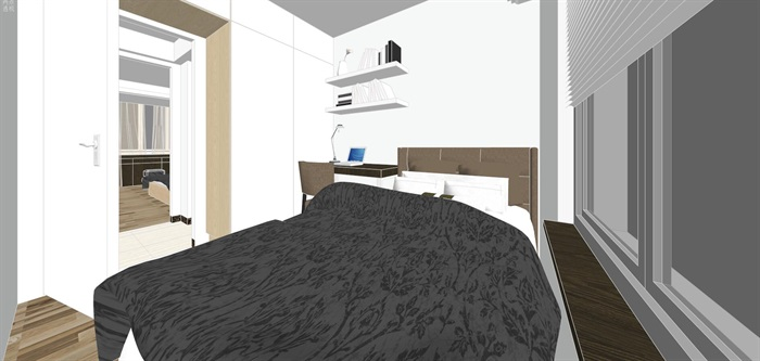 现代经典简约北欧风格住宅室内设计(8)