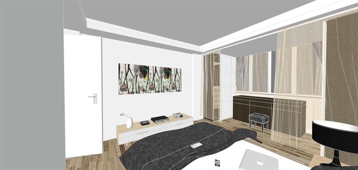 现代经典简约北欧风格住宅室内设计(9)