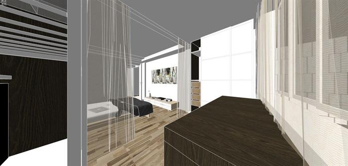现代经典简约北欧风格住宅室内设计(12)