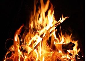 某详细的完整火焰素材jpg贴图