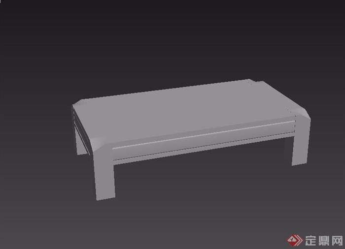 东南亚风格家具桌子素材3d模型