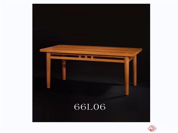 东南亚风格家具餐桌素材3d模型及效果图