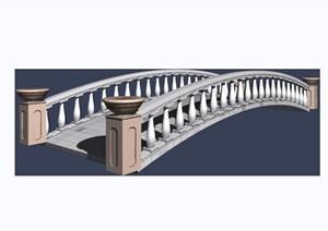 园林景观园桥拱桥素材设计3d模型及效果图