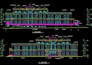 某小区会所建筑施工图