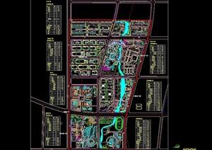 某详细的工业园规划设计cad方案