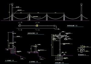 临水护栏设计图纸