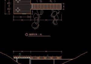 多款木桥观景台设计图纸