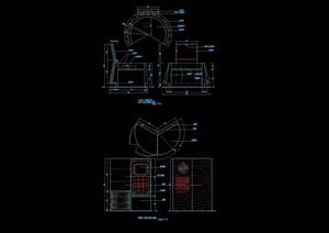 移动通信体验台设计cad详图