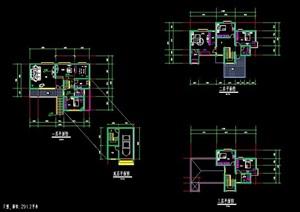 多张别墅建筑住宅户型图