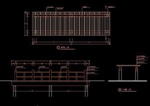 多款步行桥园桥设计图纸