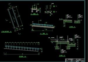 残疾人坡道详细完整设计cad施工图