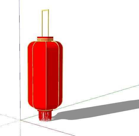 中式红灯笼装饰(2)