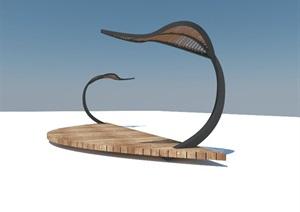特色廊架,设计新颖,形状优美,需要的可自行下载 x