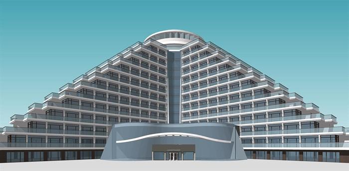 現代退臺式度假酒店 公寓(2)
