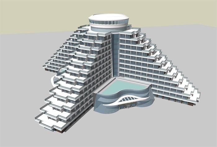現代退臺式度假酒店 公寓(3)