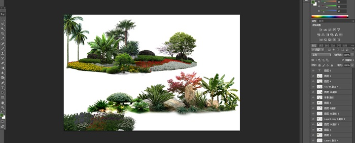 植物花卉園林景觀后期制作素材2psd(1)