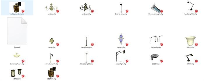 各种电器SU模型集合(2)
