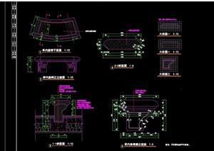 欧式座椅详细完整设计cad施工图