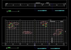 详细的木栏杆设计cad施工图