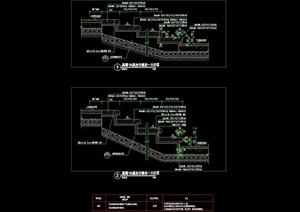 详细的完整台阶标准cad施工图天正打开