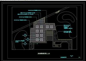 上海某别墅景观设计cad施工图