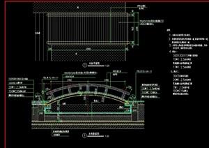 详细的整体木桥cad施工图