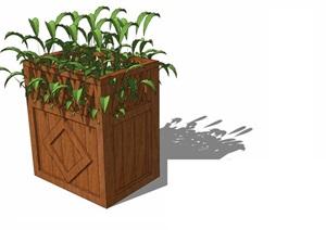 花箱— (10)模型丰富详细,材质贴图清晰,具有很高的学习参考价值,值得下载