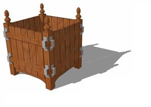 花箱— (11)模型丰富详细,材质贴图清晰,具有很高的学习参考价值,值得下载
