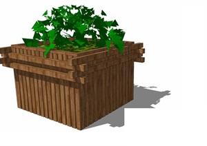 花箱— (21)模型丰富详细,材质贴图清晰,具有很高的学习参考价值,值得下载