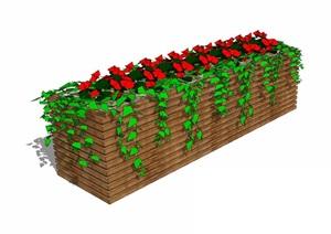 花箱— (22)(1)模型丰富详细,材质贴图清晰,具有很高的学习参考价值,值得下载
