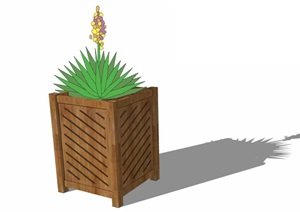花箱— (26)模型丰富详细,材质贴图清晰,具有很高的学习参考价值,值得下载