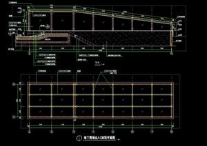 廊架节点素材设计cad施工图