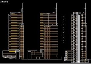 高层商业住宅建筑方案设计