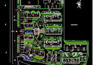 某住宅区整体平面规划图