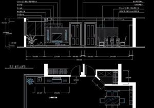 日式三居室家装住宅设计方案图