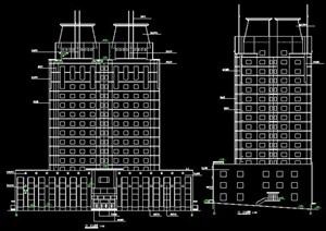 高层写字楼建筑设计图纸