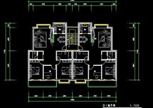 住宅小区建筑户型图设计