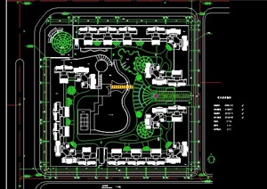 高层住宅小区平面规划图