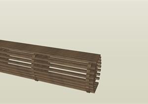 景观设计中凳子素材SU(草图大师)模型